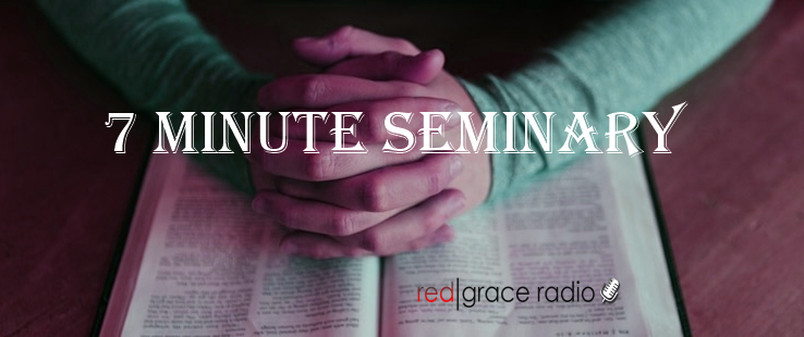 RedGraceRadio – 7 Minute Seminary Dispensationalism Vs Covenantalism
